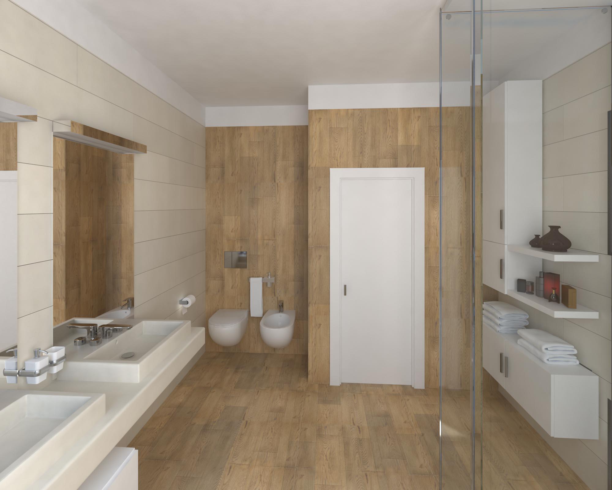 Emejing Bagno In Marmo Travertino Gallery - New Home Design 2018 ...