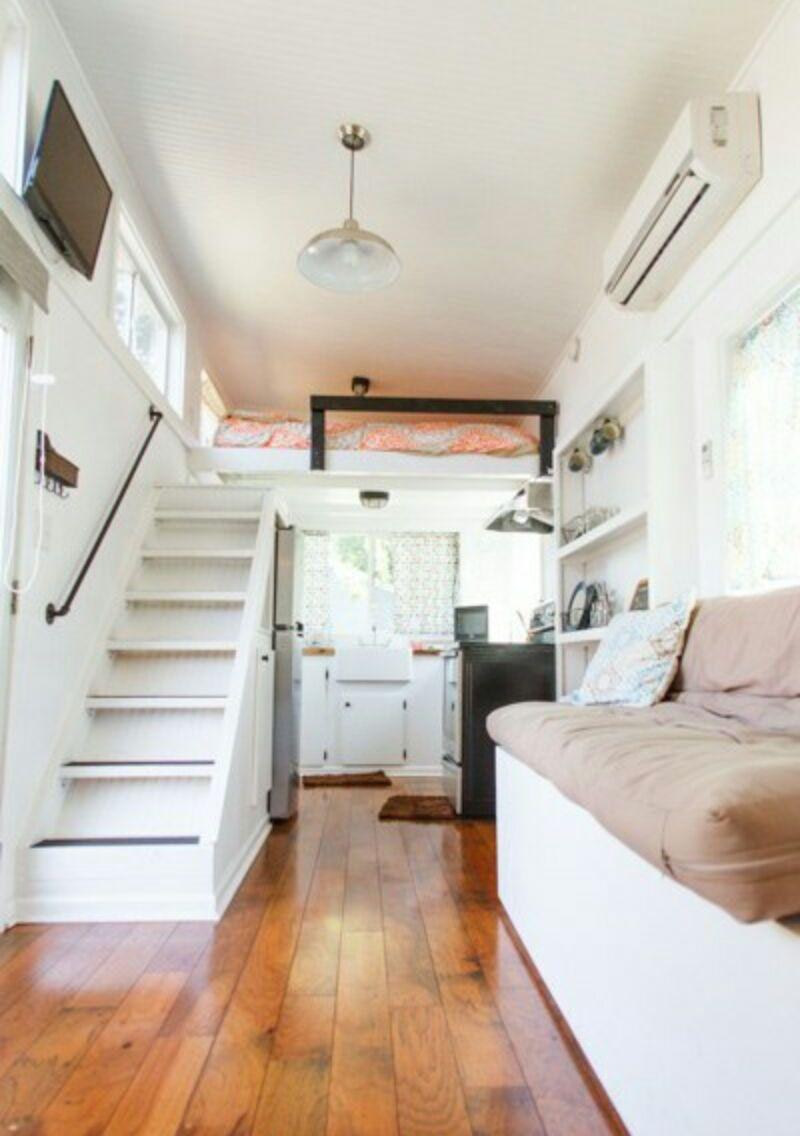 Case mobili su ruote interni casa ecolegno for Foto interni di case moderne