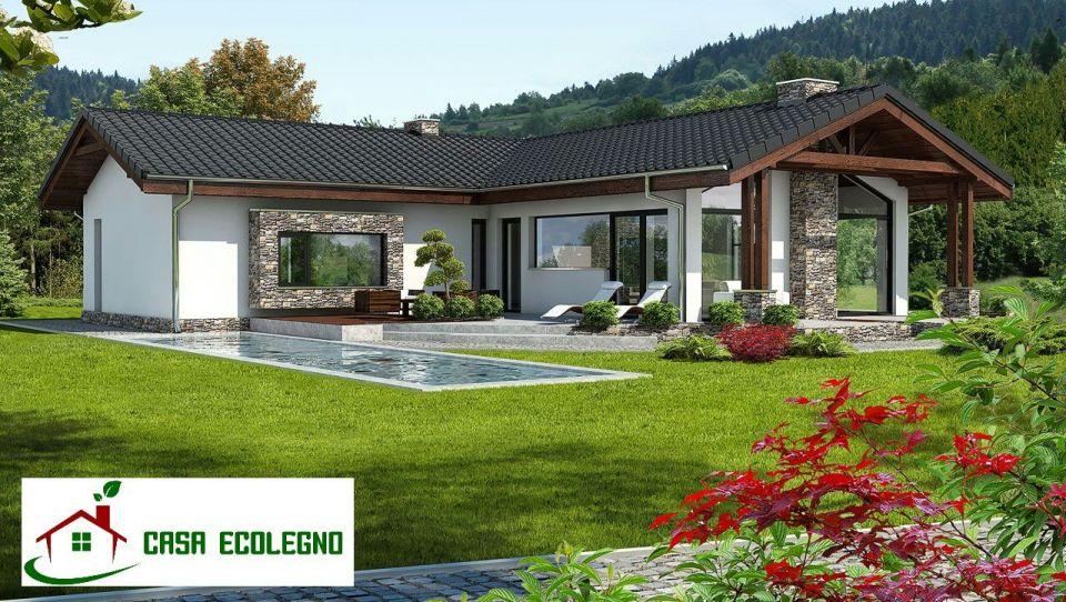 Case prefabbricate in legno prezzi e offerte casa ecolegno for Listino prezzi case prefabbricate