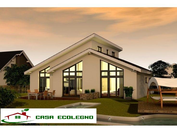 Case prefabbricate in legno prezzi e offerte casa ecolegno for Disegni di case in stucco