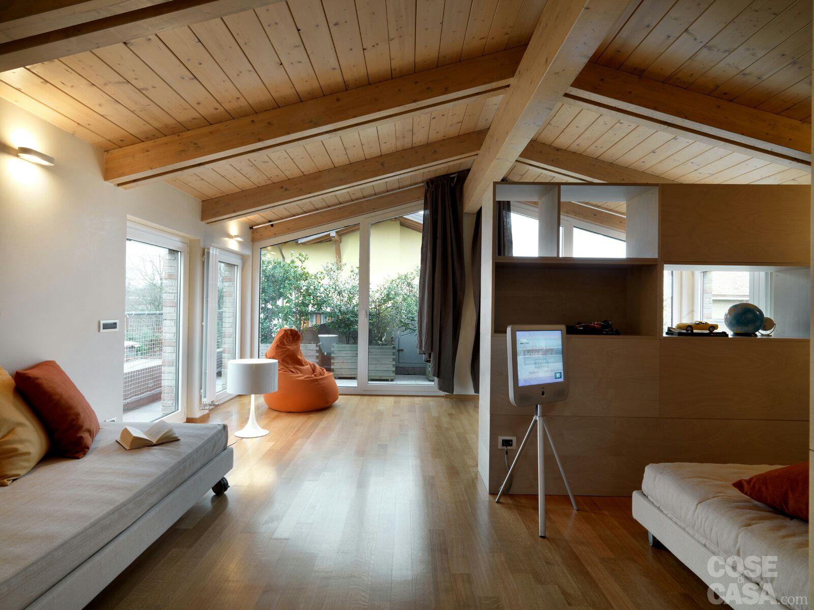 Vendita case mobili bungalow casa ecolegno for Abitazioni interni