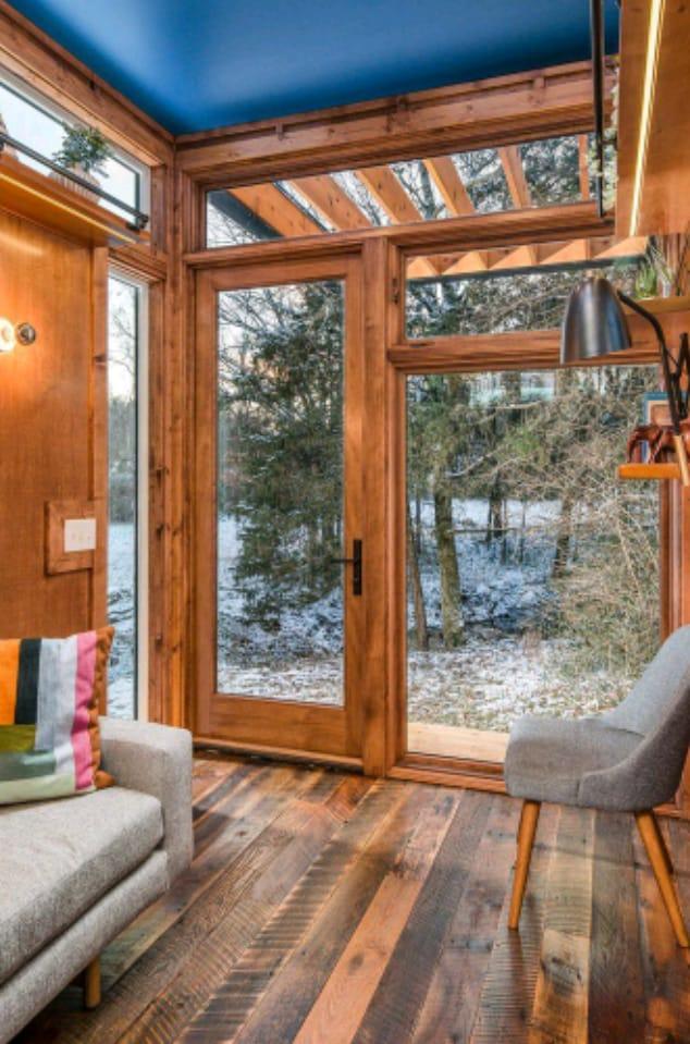 Pavimenti e interni casa ecolegno - Tiny house interni ...