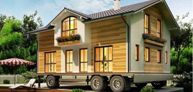 Case mobili bungalow case su ruote casa ecolegno for Case in legno usate su ruote