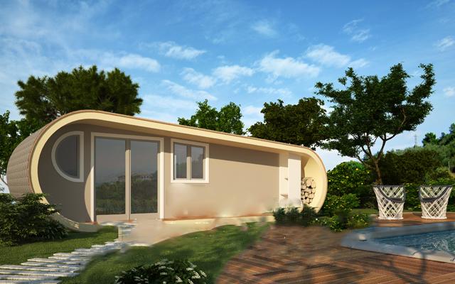 Case mobili bungalow case su ruote casa ecolegno for Modello di casa bungalow