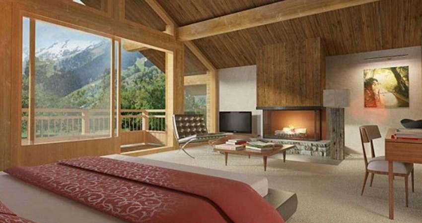 Interni progettazione e arredi casa ecolegno - Interni case in legno ...