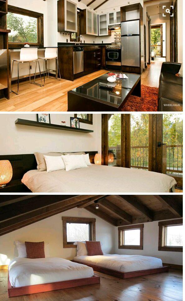 Case mobili su ruote interni casa ecolegno for Esempi di arredamento interni