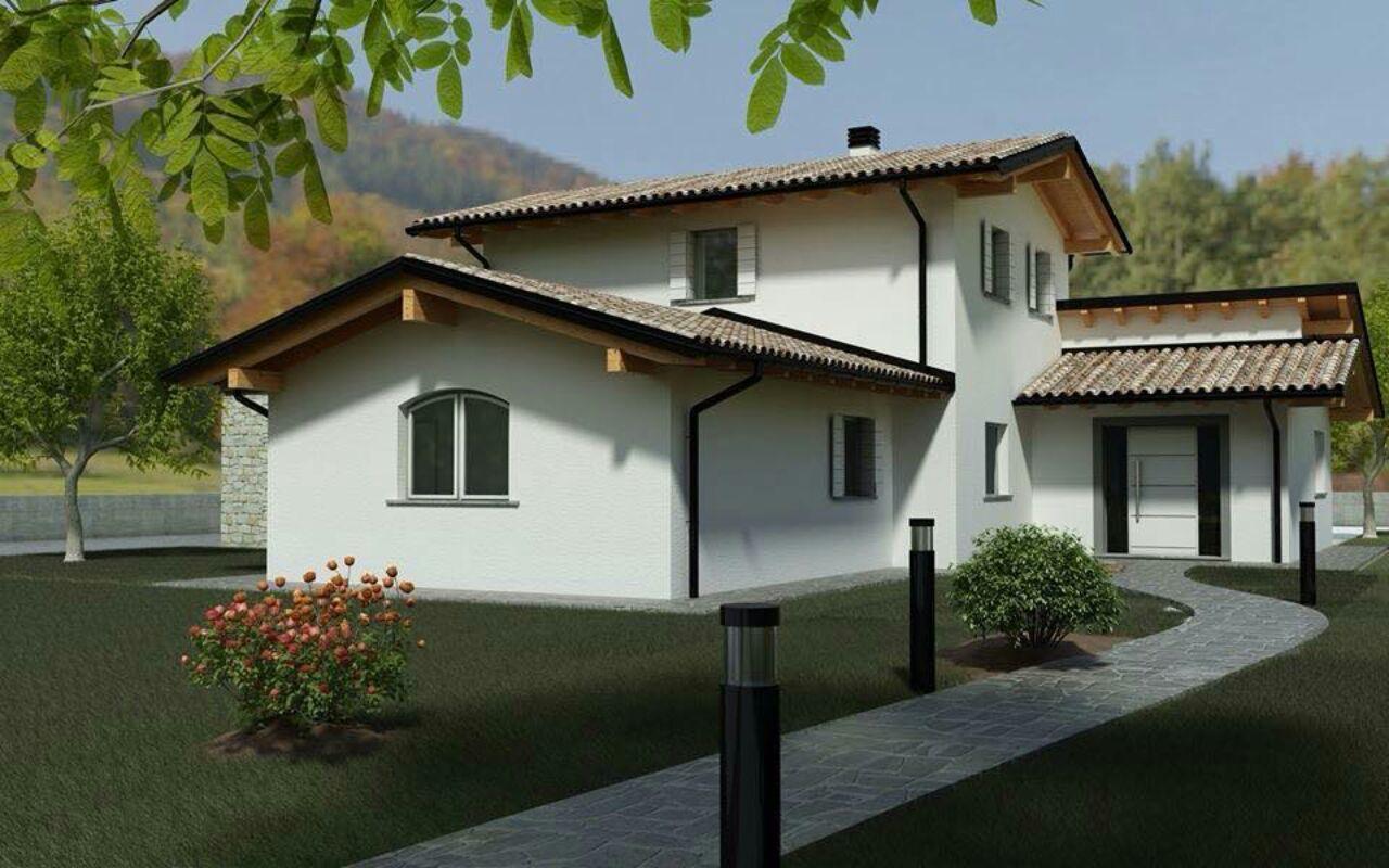 Case prefabbricate in legno prezzi e offerte casa ecolegno for Tetti di case moderne