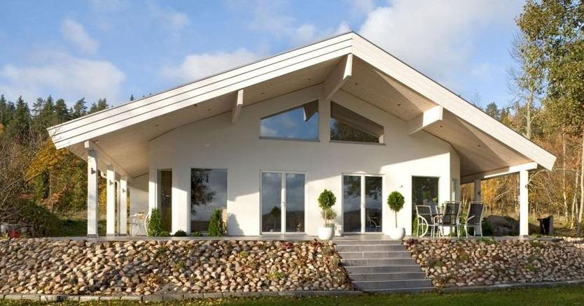 Case prefabbricate in legno prezzi e offerte casa ecolegno - Chalet de madera y piedra ...