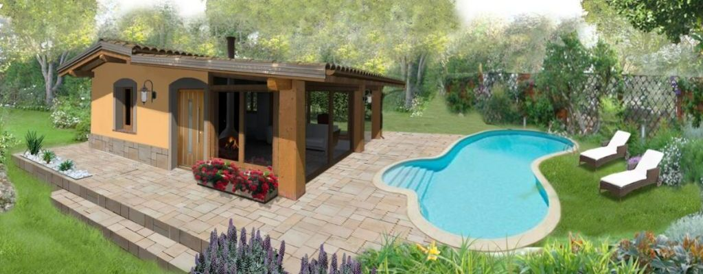 Offerta casa prefabbricata in legno villa amore casa ecolegno - Prezzo casa prefabbricata in legno ...