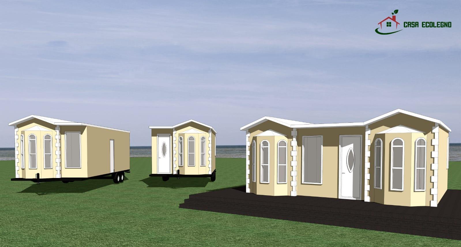 Case Mobili Prezzi : Case prefabbricate legno case cemento case mobili
